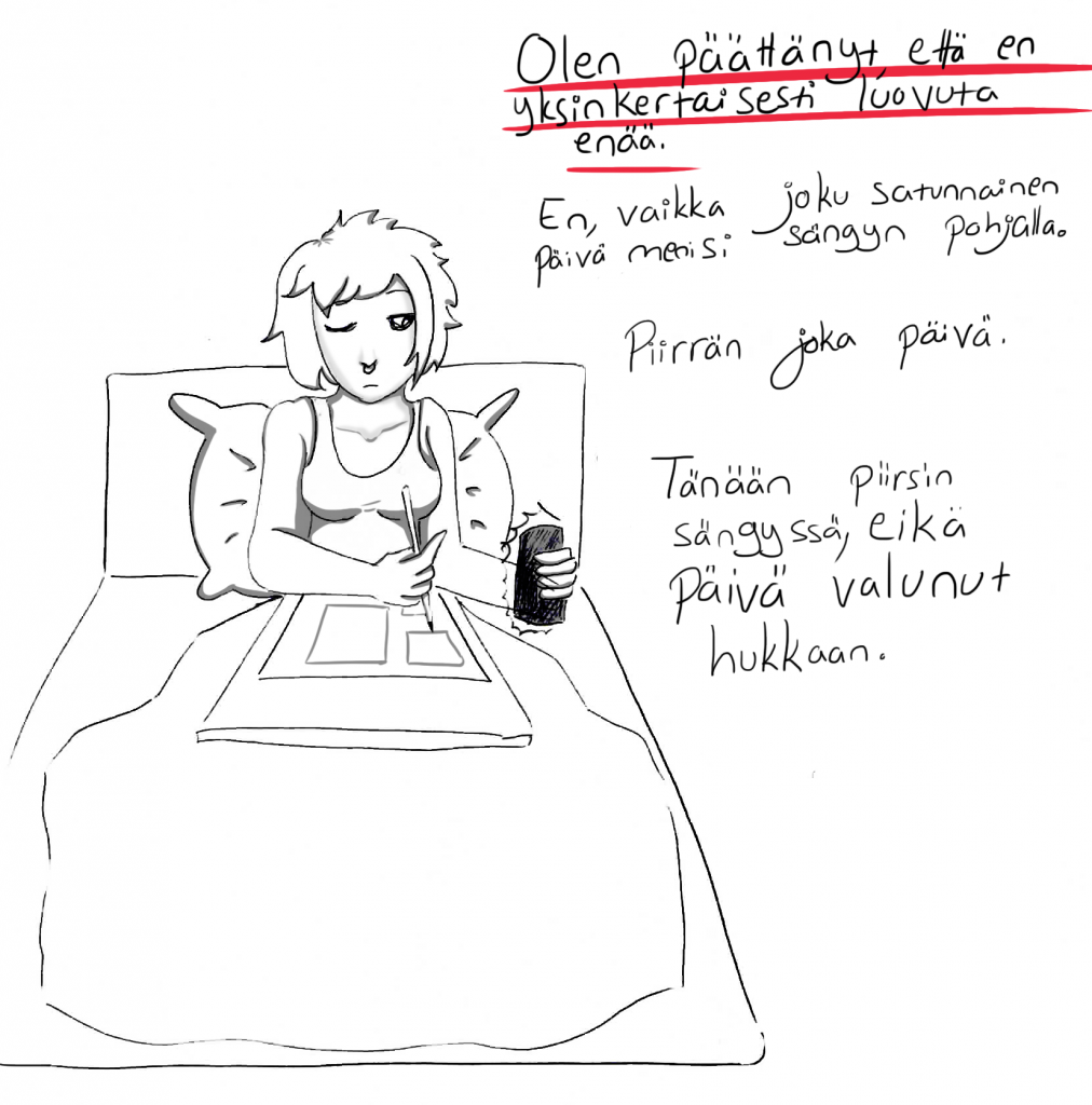 Sängyssä